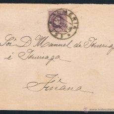 Sellos: 1902. ALMERIA A FIÑANA. Lote 46797081
