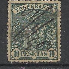 Francobolli: ALFONSO XIII TELEGRAFOS 1901 EDIFIL 38 MARCA BARCELONA. Lote 46968112