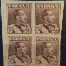Sellos: ESPAÑA Nº 323 S. BLOQUE DE CUATRO.. Lote 47141364