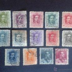 Sellos: ALFONSO XIII. EDIFIL 310 A 322. 1922 - 1930. TIPO VAQUER. SERIE/COLECCIÓN. A FALTA DEL DE 10 PTAS.. Lote 68164355