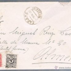 Sellos: FIÑANA (ALMERIA) A ALMERIA EDIFIL 592-598. Lote 47716995