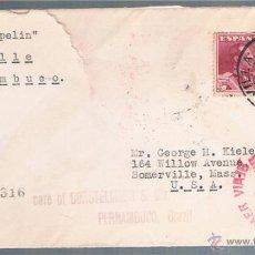 Sellos: 1930 SEVILLA A USA EDIFIL 322 (2). Lote 47719448