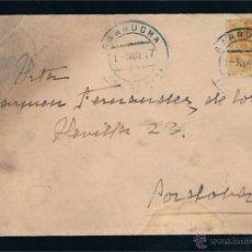 Sellos: 1917 GARRUCHA (ALMERIA) A CORDOBA. Lote 47737287