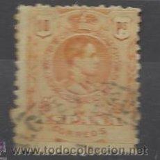 Sellos: ESPAÑA Nº 280 CATALOGO EDIFIL MATASELLADO. Lote 48438331
