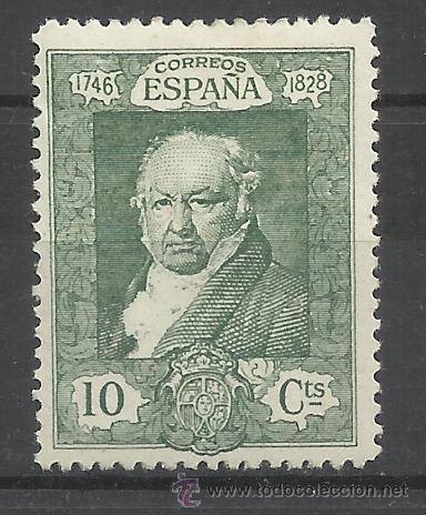 GOYA 1930 EDIFIL 504 NUEVO* (Sellos - España - Alfonso XIII de 1.886 a 1.931 - Nuevos)