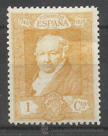 GOYA 1930 EDIFIL 499 NUEVO* (Sellos - España - Alfonso XIII de 1.886 a 1.931 - Nuevos)