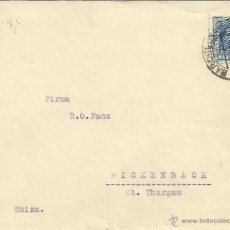 Sellos: BARCELONA CC ALEMANIA SELLOS VAQUER 40 CTS AL DORSO LLEGADA. Lote 49324707