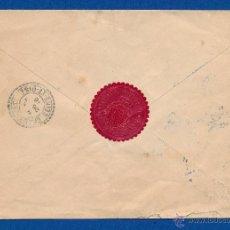 Sellos: SERVICIO PRISIONEROS DE GUERRA. FRANQUICIA SECRETARIA PARTICULAR DE S.M. EL REY ALFONSO XIII 1916. Lote 50043021