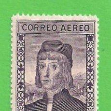 Sellos: EDIFIL 556. DESCUBRIMIENTO DE AMÉRICA - MARTÍN ALONSO PINZÓN - C. AÉREO (1930).* NUEVO - MARQUILLADO. Lote 51301720