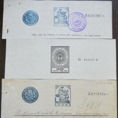 Sellos: SELLOS CLASICOS FISCALES 1904-1931. ANTIGUOS SELLOS FISCALES TIMBROLOGIA FILATELIA FISC. Lote 51390320