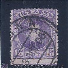 Sellos: EDIFIL 246 ALFONSO XIII. TIPO CADETE. 1901-1905. BONITO MATASELLOS 03-OCTUBRE-1906.. Lote 52380768