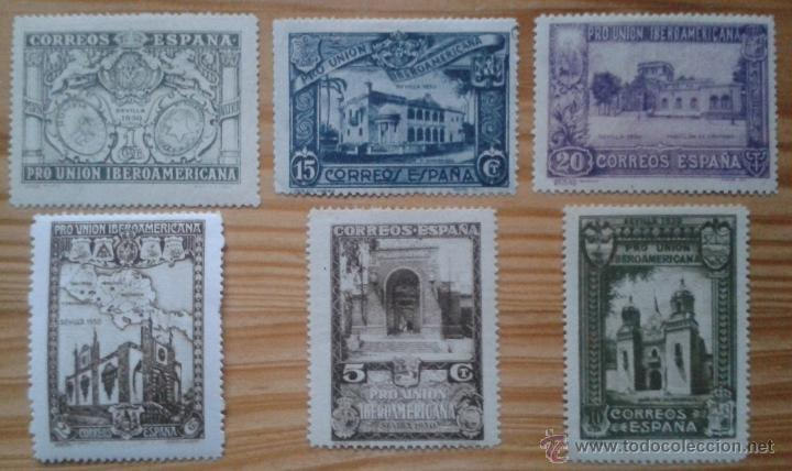 9 SELLOS NUEVOS, AÑO 1930, ESPAÑA (Sellos - España - Alfonso XIII de 1.886 a 1.931 - Nuevos)