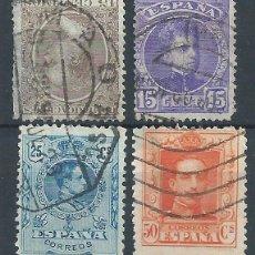 Sellos: R6/ REINADO DE ALFONSO XIII, MATASELLADOS, MUY BONITOS. Lote 53288905