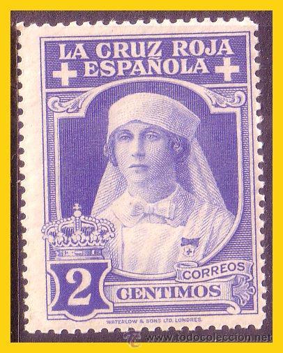 1926 PRO CRUZ ROJA ESPAÑOLA, EDIFIL Nº 327 * * (Sellos - España - Alfonso XIII de 1.886 a 1.931 - Nuevos)