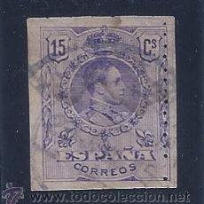 Sellos: EDIFIL 270 ALFONSO XIII. TIPO MEDALLÓN 1909-1922. (VARIEDAD...PERFORADO VERTICAL EN LATERAL DERECHO). Lote 53814940