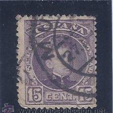 Sellos: EDIFIL 244 ALFONSO XIII. TIPO CADETE. 1901-1905.. Lote 53816504