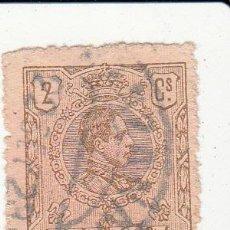 Sellos: EDIFIL 267. MATº MANZANARES. ALFONSO XIII 1909-1922.. Lote 54432683