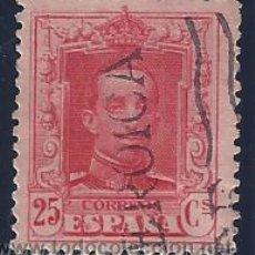 Sellos: EDIFIL 317 ALFONSO XIII. TIPO VAQUER 1922-1930 (MATASELLADO CON LA PALABRA HEROICA). LUJO.. Lote 54499990