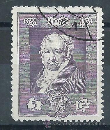 R7.B2/ ESPAÑA USADOS 1930, EDF. 502, QUINTA DE GOYA... (Sellos - España - Alfonso XIII de 1.886 a 1.931 - Usados)