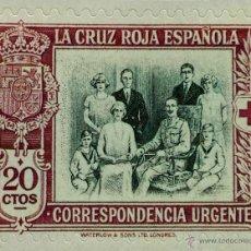 Sellos: SPAIN ESPAÑA 20 CTS 1926 CRUZ ROJA ALFONSO XIII Y FAMILIA REAL SELLO STAMP NUEVO. Lote 54930580