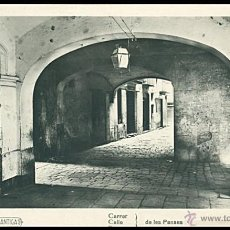 Sellos: TARJETA POSTAL BARCELONA ANTIGUA.....CARRER DE LES PANSES. Lote 55042210