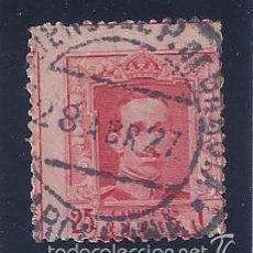 Sellos: EDIFIL 317 ALFONSO XIII. TIPO VAQUER 1922-1930. MATASELLOS APEADERO P.DE GRACIA (BARCELONA). Lote 55108119