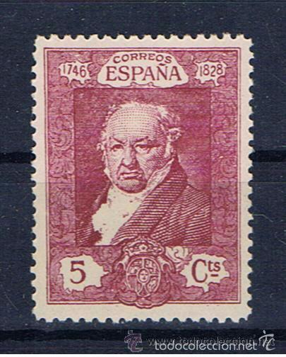 GOYA 1930 EDIFIL 503 NUEVO** VALOR 2016 CATALOGO 0.35 EUROS (Sellos - España - Alfonso XIII de 1.886 a 1.931 - Nuevos)