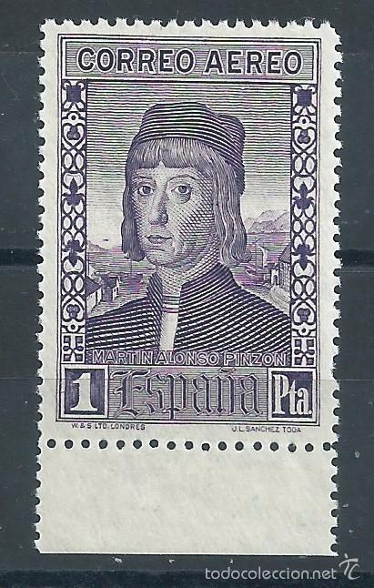 R9/ ESPAÑA EN NUEVO** 1930, EDF, 556, DESCUBRIMIENTO DE AMERICA (Sellos - España - Alfonso XIII de 1.886 a 1.931 - Nuevos)