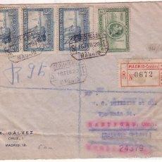 Selos: HP10-20- CERTIFICADO MADRID- USA 1929. Lote 56729894