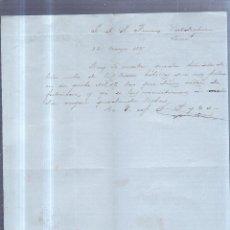 Sellos: CIRCULAR PUBLICITARIA. CIFUENTES POLA Y CIA. DE GIJON A JEREZ. 1889. CON SELLO. VER. Lote 89524490