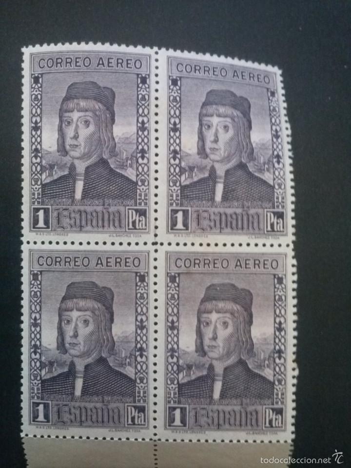 EDIFIL 556 ** BLOQUE DE 4 , GOMA ORIGINAL SIN CHARNELA (Sellos - España - Alfonso XIII de 1.886 a 1.931 - Nuevos)