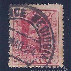 Sellos: EDIFIL 317 ALFONSO XIII. TIPO VAQUER 1922-1930. MATASELLOS ALCANCE MEDIODÍA DE MARZO DE 1924. LUJO.. Lote 57584911