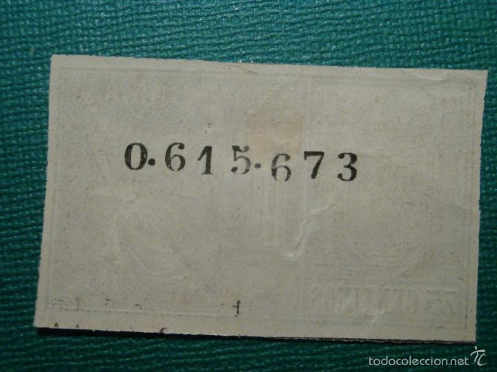 Sellos: FISCALES, TIMBRE, SELLO PAPELES OFICIALES - SELLO 13º CLASE 1898 - 75 CÉNTIMOS, NEGRO - - Foto 2 - 58162496