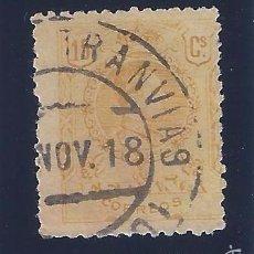 Sellos: EDIFIL 271 ALFONSO XIII. TIPO MEDALLÓN. 1909-1922. EXCELENTE MATASELLOS DE TRANVÍAS. NOVIEMBRE 1918.. Lote 58403858