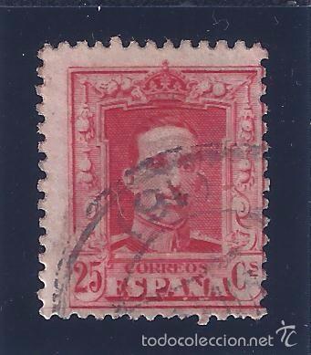 EDIFIL 317 ALFONSO XIII. TIPO VAQUER 1922-1930 (VARIEDAD..CALCADO AL DORSO) (Sellos - España - Alfonso XIII de 1.886 a 1.931 - Usados)