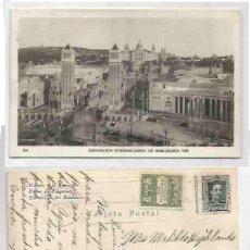 Sellos: EXPOSICIÓN INTERNACIONAL DE BARCELONA 1929. ALFONSO XIII 15CTS AYUNT. BARCELONA 5CS. Lote 59438080