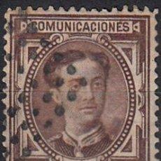 Sellos: EDIFIL 177 USADO. 1876 ALFONSO XII. MATº ROMBO DE PUNTOS.. Lote 65736385