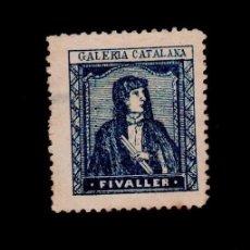 Timbres: VN2-44 NACIONALISTAS SEPARATISTAS CATALUÑA - FIVALLER NATHAN Nº 34 AZUL PEQUEÑO CLARO EN EL REVERSO . Lote 60411471