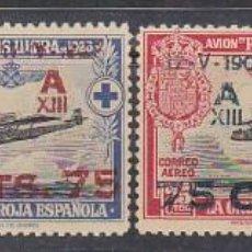 Sellos: XX 388/91 A. XXV ANIV. JURA DE LA CONSTITUCIÓN ESPAÑOLA-ALFONSO XIII..1927. Lote 61397315