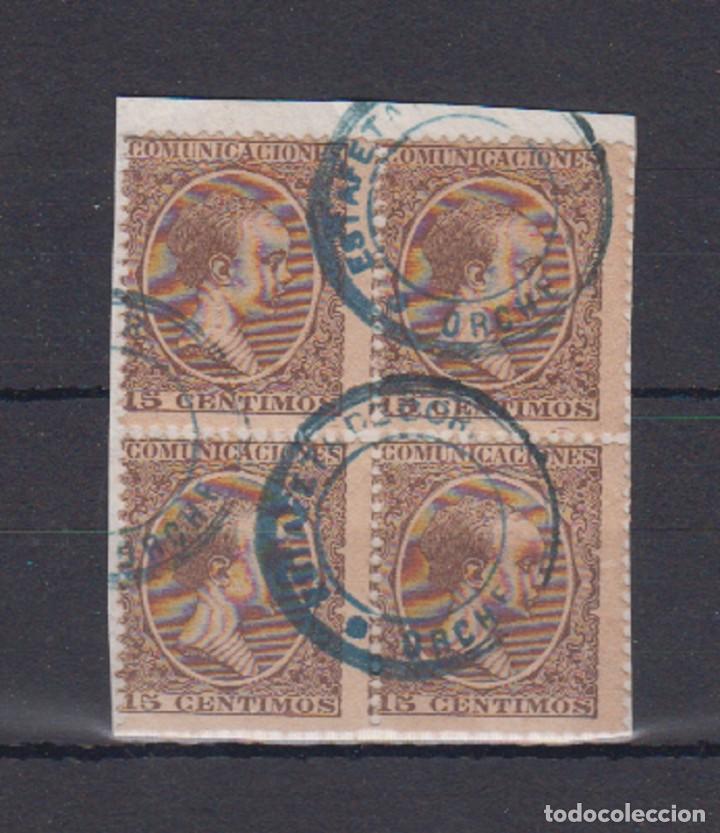 MATASELLO ESPECIAL TIPO CARTERÍA ORCHE (GUADALAJARA) (Sellos - España - Alfonso XIII de 1.886 a 1.931 - Usados)