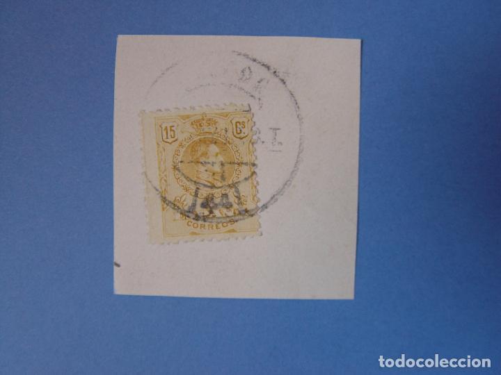 Sellos: Lote 2 sellos: Alfonso XIII (10 y 15 cts.) 1909 ¡Originales! Matasello - Foto 2 - 68971985