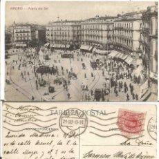 Sellos: MADRID. ALFONSO XIII. MEDALLÓN. 10CS. 21 DE SEPTIEMBRE DE 1913.. Lote 68992737