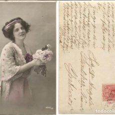 Sellos: ALFONSO XIII . MEDALLÓN 10CTS. 28 DE MARZO DE 1911?. Lote 68993021