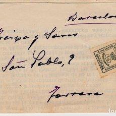 Sellos: CARTA COMERCIAL DE JOAQUIN FUENTES PALACIOS -ABOGADO- EN GIJÓN. Lote 70519869