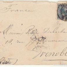 Sellos: SELLO 221 .BILBAO A ISERE (GRENOBLE) . 1894.. Lote 73746011