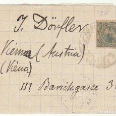 Sellos: FRONTAL : SELLO 215. A VIENA. 1900.. Lote 73748923