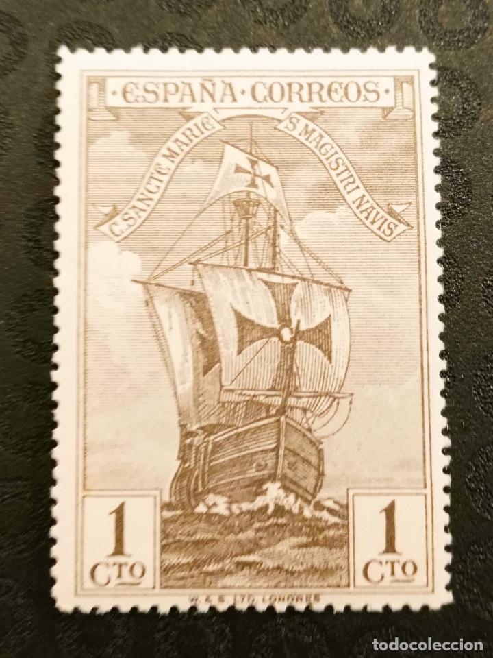 NUEVO - EDIFIL 531 CON FIJASELLOS - SPAIN 1930 MH - DESCUBRIMIENTO AMERICA /M (Sellos - España - Alfonso XIII de 1.886 a 1.931 - Nuevos)