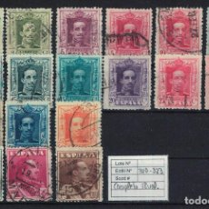 Sellos: ALFONSO XIII VAQUER (1922-1930). EDIFIL 310-323. USADOS. Lote 75144879