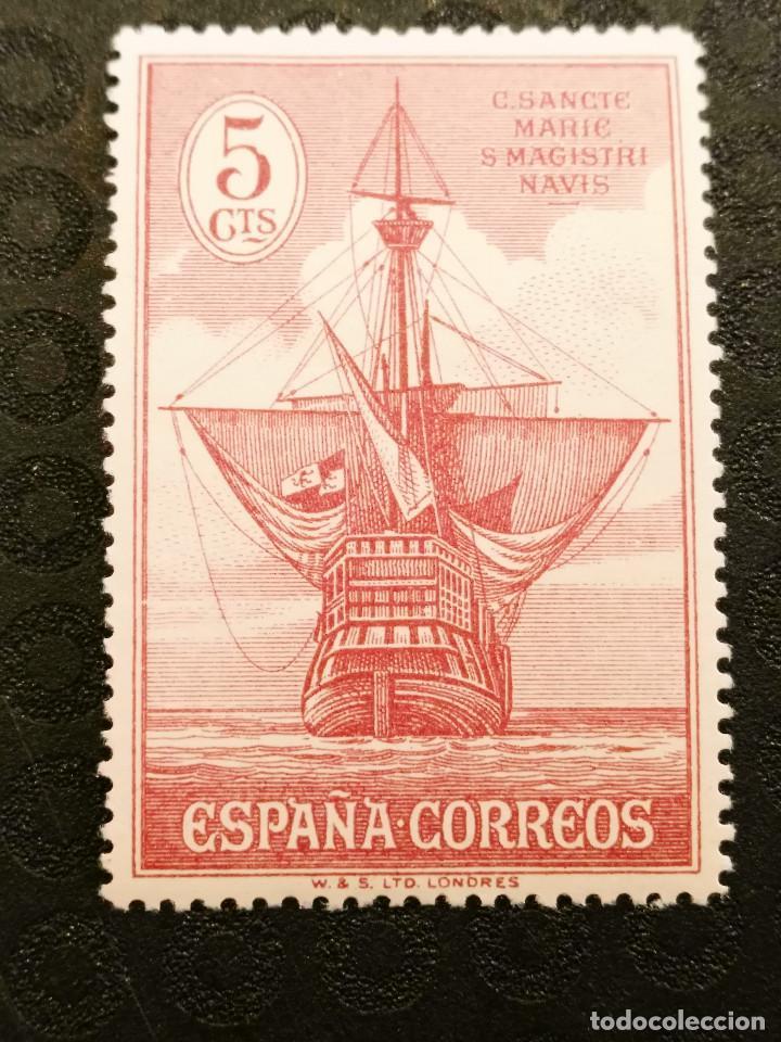 NUEVO - EDIFIL 534 CON FIJASELLOS - SPAIN 1930 MH - DESCUBRIMIENTO AMERICA /M (Sellos - España - Alfonso XIII de 1.886 a 1.931 - Nuevos)