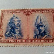 Sellos: NUEVO *. ALFONSO XIII. 1928. EDIFIL 409. FIJASELLO.. Lote 75224199